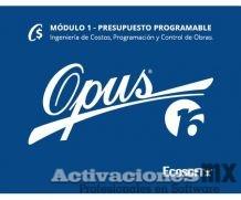 OPUS 2016 Presupuesto Programable Modulo 1 con Activador/SentinelKey Ilimitado