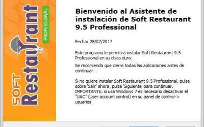 SoftRestaurant Profesional 9.5 con Activacion/Keygen Incluido maquinas ilimitadas