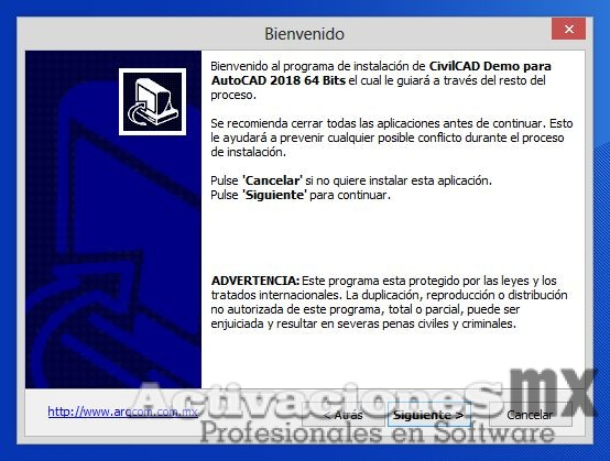 CivilCAD crack para AutoCAD 2018 full descarga Arqcom