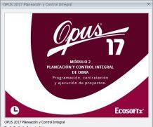 Opus 17 full Modulo 2 Planeacion y Control Integral de Obra crack Mega
