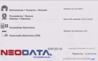 Neodata ERP 2016 crack emulador full descarga de Mega