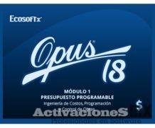 OPUS 18 Presupuesto Programable M1 emulador crack full activacion licencia mega