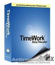 TimeWork 2019 empleados ilimitados full mega descarga