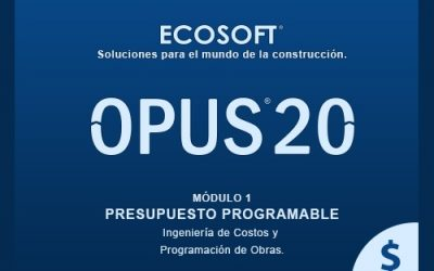 Opus 20 Presupuesto Programable 2020 full candado activacion