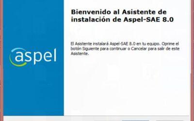 Aspel SAE 8.0 Reinstalable 02 activacion permanente full mega mediafire