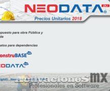 Neodata 2018 18.5 full Precios Unitarios crack Emulador actualizado 2 Licencias Red