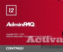 AdminPAQ 12.0.0 full con activacion permanente timbrado ilimitado