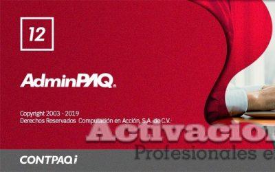 AdminPAQ 12.0.0 2020 full con activacion permanente timbrado ilimitado